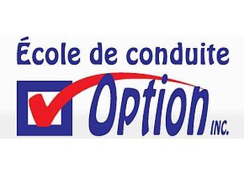 Saint Jean sur Richelieu driving school École de conduite Option