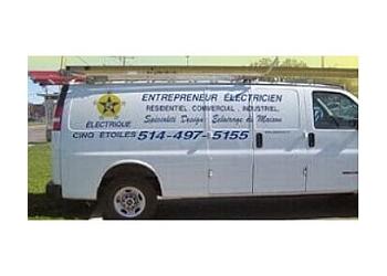 Laval electrician Électrique Cinq Étoiles