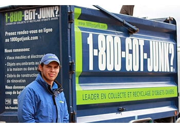 Montreal junk removal 1-800-GOT-JUNK?