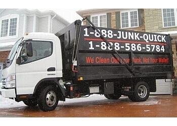 Milton junk removal 1-888-Junk-Quick