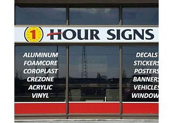 Burlington sign company 1 Hour Signs