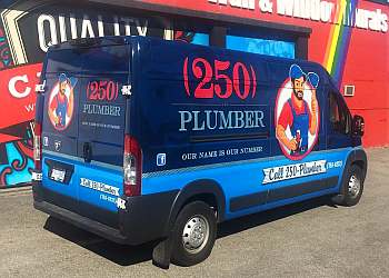 Nanaimo plumber 250 Plumber