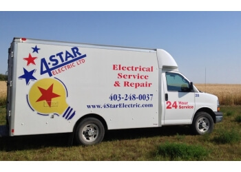 Calgary electrician 4-Star Electric Ltd.
