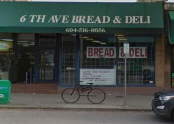 6 Avenue Bread & Deli New Westminster Bakeries