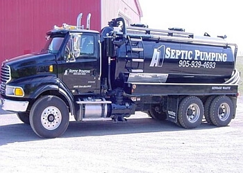 Vaughan septic tank service A-1 Septic Pumping