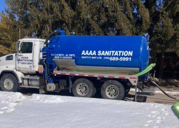 Orillia septic tank service AAAA Sanitation