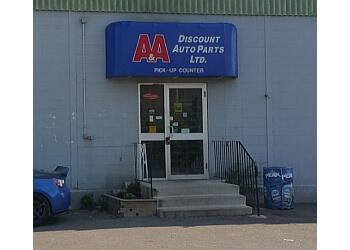 Hamilton auto parts store A&A DISCOUNT AUTO PARTS LTD.