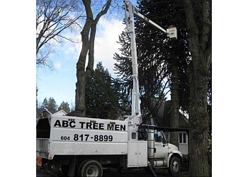 Burnaby tree service ABC Tree Men