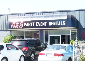 Vancouver event rental company A & B Partytime Rentals Ltd.