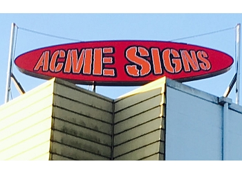 Nanaimo sign company ACME Signs