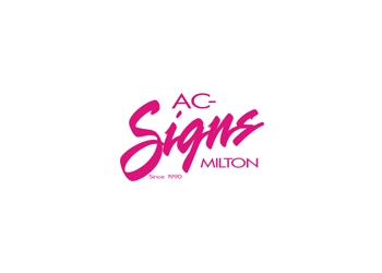 Milton sign company AC Signs