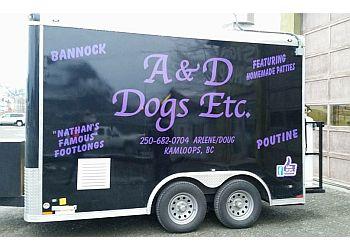 Kamloops food truck A & D Dogs Etc.