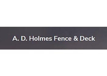 Markham fencing contractor A D Holmes Fence and Deck Ltd