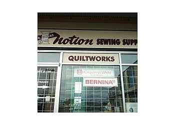 Surrey sewing machine store A Great Notion