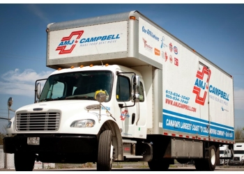 Kingston moving company AMJ Campbell