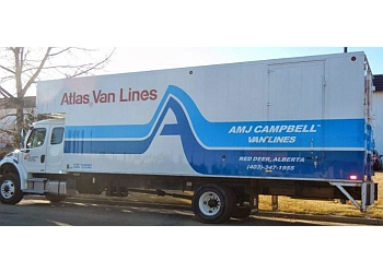 Red Deer moving company AMJ Campbell Van Lines