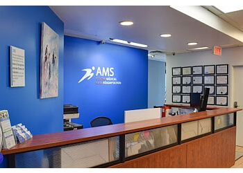 Montreal occupational therapist AMS Physiotherapy & Rehabilitation Centre
