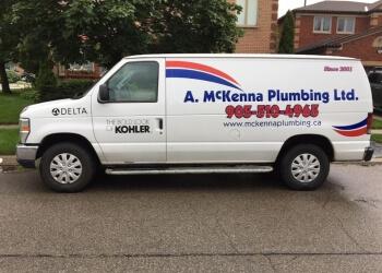 Oakville plumber A. McKenna Plumbing Ltd.