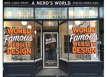 Toronto web designer A Nerd's World