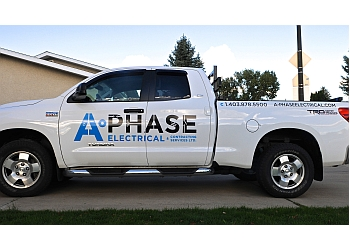 Medicine Hat electrician A-Phase Electrical & Contracting Services LTD.