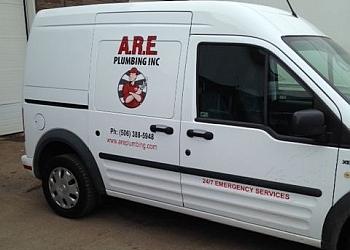 Moncton plumber A.R.E. PLUMBING INC.