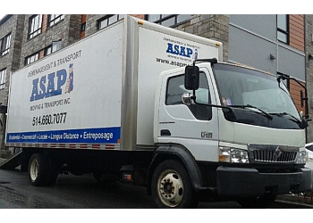 Montreal moving company ASAP Moving & Transport Inc.