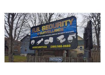 Niagara Falls security system A.S. SECURITY & SURVEILLANCE INC.