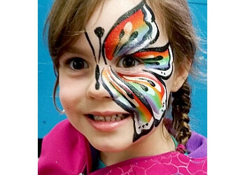 Abbotsford face painting A-STAR ART PARLOUR