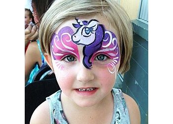 Coquitlam face painting A-STAR ART PARLOUR