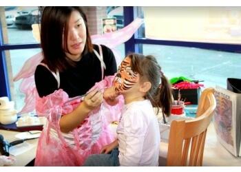 Delta face painting A-Star Art Parlour