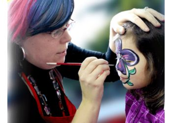 New Westminster face painting A-Star Art Parlour