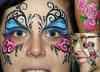 Port Coquitlam face painting A-Star Art Parlour