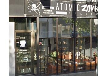 Edmonton tattoo shop Atomic Zombie Tattoo and Piercing Studio