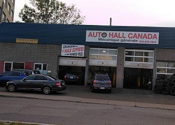 Montreal car repair shop AUTO HALL CANADA PIE IX