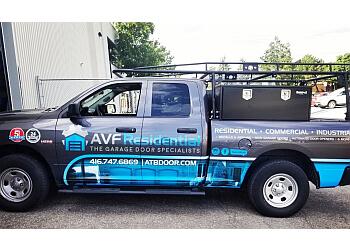Toronto garage door repair AVF Residential