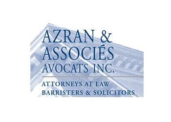 Montreal business lawyer AZRAN & ASSOCIÉS Avocats Inc.