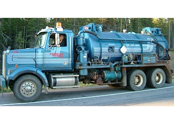 Kamloops septic tank service Aardvark Pumping Services