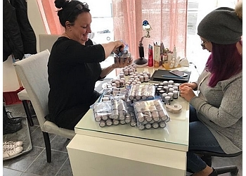Saint Jerome nail salon Académie Patricia L'Ecuyer