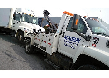 Vancouver towing service Academy Towing