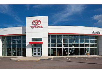 Moncton car dealership Acadia Toyota