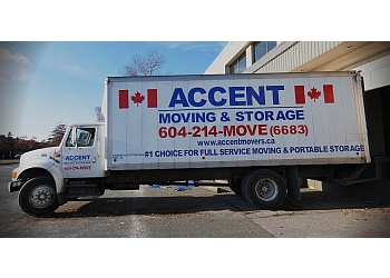 New Westminster moving company Accent Moving & Storage