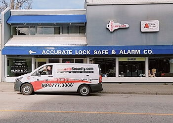 New Westminster locksmith Accurate Security