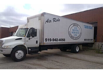 Caledon moving company Ace Moving Services Ltd.