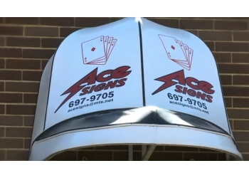 Winnipeg sign company Ace Signs & Services