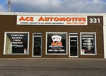 Oshawa car repair shop Ace's Automotive Inc.