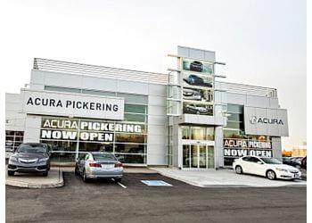 Pickering car dealership Acura Pickering