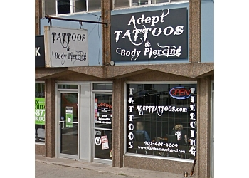 Halifax tattoo shop Adept Tattoos