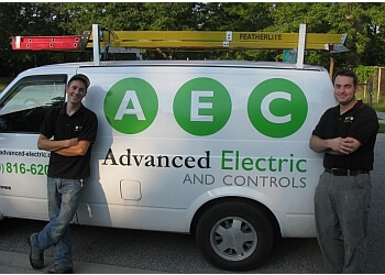 Windsor electrician Advanced Electric and Controls Inc.