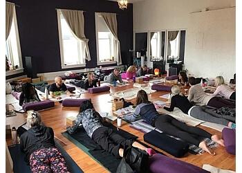 Whitby yoga studio Ahimsa Yoga