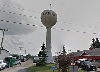 Airdrie's Water Tower